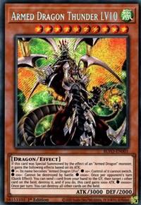 Armed Dragon Thunder LV10, YuGiOh, Blazing Vortex