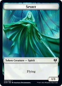 Spirit Token, Magic: The Gathering, Kaldheim