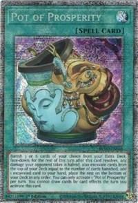 Pot of Prosperity (Starlight Rare), YuGiOh, Blazing Vortex