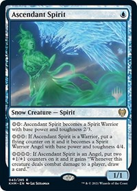 Ascendant Spirit, Magic: The Gathering, Promo Pack: Kaldheim