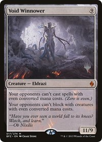 Void Winnower, Magic: The Gathering, Promo Pack: Kaldheim