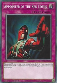 Appointer of the Red Lotus, YuGiOh, Structure Deck: Freezing Chains