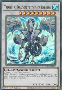 Trishula, Dragon of the Ice Barrier, YuGiOh, Structure Deck: Freezing Chains