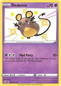 Dedenne, Pokemon, Shining Fates: Shiny Vault