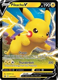 Pikachu V - SWSH061, Pokemon, SWSH: Sword & Shield Promo Cards