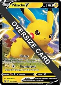 Pikachu V - SWSH061, Pokemon, Jumbo Cards