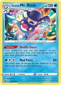 Galarian Mr. Rime - SWSH079, Pokemon, SWSH: Sword & Shield Promo Cards