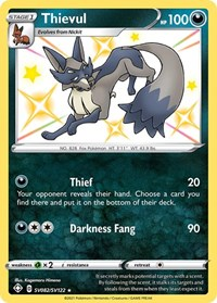 Thievul, Pokemon, Shining Fates: Shiny Vault