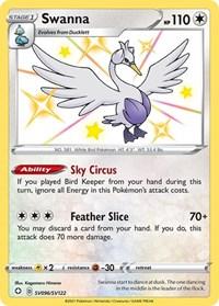 Swanna, Pokemon, Shining Fates: Shiny Vault