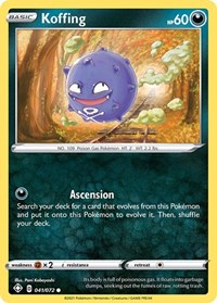 Koffing, Pokemon, Shining Fates