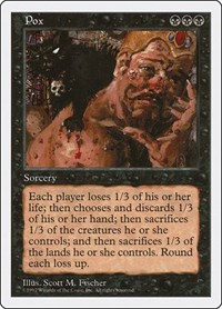 Pox, Magic: The Gathering, Fifth Edition