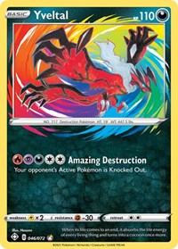 Yveltal, Pokemon, Shining Fates