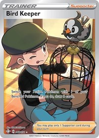 Bird Keeper (Full Art), Pokemon, Shining Fates