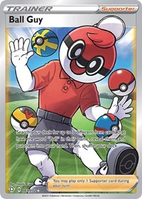Ball Guy (Full Art), Pokemon, Shining Fates