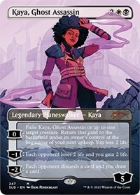 Kaya, Ghost Assassin, Magic: The Gathering, Secret Lair Drop Series
