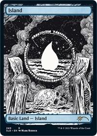 Island (Crushing Brutality), Magic: The Gathering, Secret Lair Drop Series