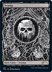 Swamp (Crushing Brutality), Magic: The Gathering, Secret Lair Drop Series