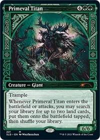 Primeval Titan, Magic: The Gathering, Secret Lair Drop Series