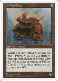 Primal Clay, Magic: The Gathering, Fifth Edition