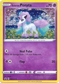 Galarian Ponyta - SWSH013 (General Mills Promo), Pokemon, Miscellaneous Cards & Products