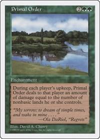 Primal Order, Magic, Fifth Edition