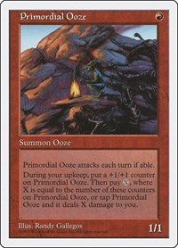 Primordial Ooze, Magic: The Gathering, Fifth Edition