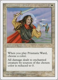 Prismatic Ward, Magic: The Gathering, Fifth Edition