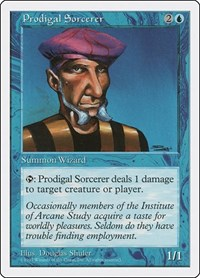 Prodigal Sorcerer, Magic: The Gathering, Fifth Edition