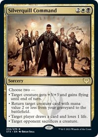 Silverquill Command, Magic: The Gathering, Strixhaven: School of Mages