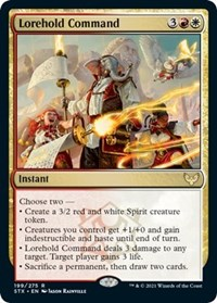 Lorehold Command, Magic: The Gathering, Strixhaven: School of Mages