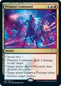 Prismari Command, Magic: The Gathering, Strixhaven: School of Mages