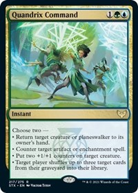 Quandrix Command, Magic: The Gathering, Strixhaven: School of Mages