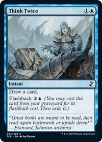Think Twice, Magic: The Gathering, Time Spiral: Remastered