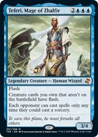 Teferi, Mage of Zhalfir, Magic: The Gathering, Time Spiral: Remastered