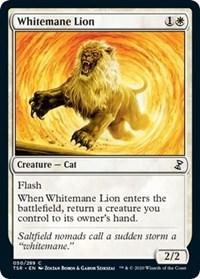 Whitemane Lion, Magic: The Gathering, Time Spiral: Remastered