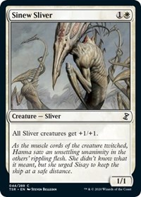 Sinew Sliver, Magic: The Gathering, Time Spiral: Remastered
