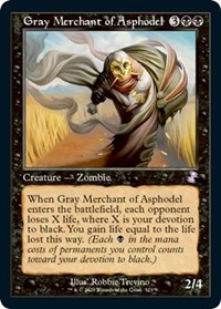 Gray Merchant of Asphodel, Magic: The Gathering, Time Spiral: Remastered