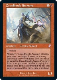 Dreadhorde Arcanist, Magic: The Gathering, Time Spiral: Remastered