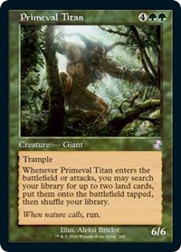 Primeval Titan, Magic: The Gathering, Time Spiral: Remastered
