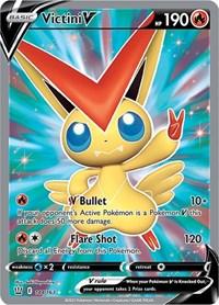 Victini V (Full Art), Pokemon, SWSH05: Battle Styles