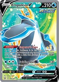 Empoleon V (Full Art), Pokemon, SWSH05: Battle Styles