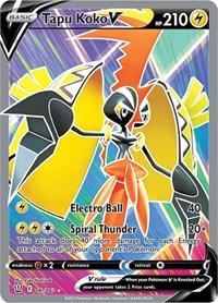 Tapu Koko V (Full Art), Pokemon, SWSH05: Battle Styles