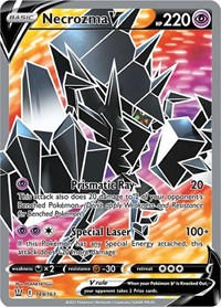 Necrozma V (Full Art), Pokemon, SWSH05: Battle Styles
