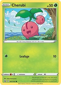 Cherubi, Pokemon, SWSH05: Battle Styles