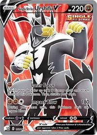 Single Strike Urshifu V (Full Art), Pokemon, SWSH05: Battle Styles