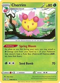 Cherrim, Pokemon, SWSH05: Battle Styles