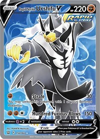 Rapid Strike Urshifu V (Full Art), Pokemon, SWSH05: Battle Styles
