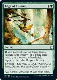Edge of Autumn, Magic: The Gathering, Time Spiral: Remastered