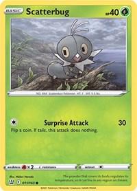 Scatterbug, Pokemon, SWSH05: Battle Styles