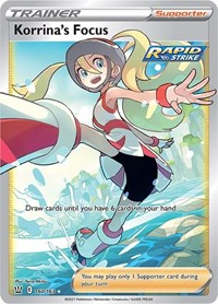 Korrina's Focus (Full Art), Pokemon, SWSH05: Battle Styles